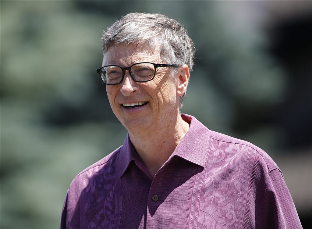 Bill Gates in College Tour