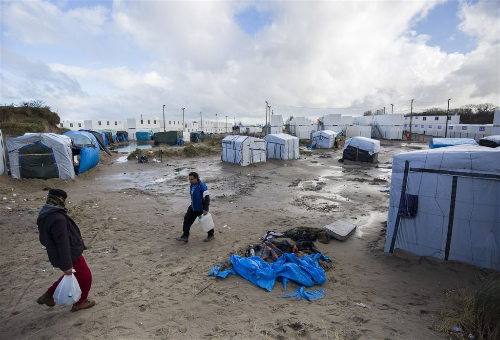 Ontruiming 'jungle'  Calais begonnen