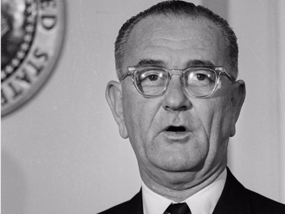 president-lyndon-johnson-proclaims-a-day-of-mourning-for-deceased-president-john-f-kennedy-shortly-after-being-sworn-in