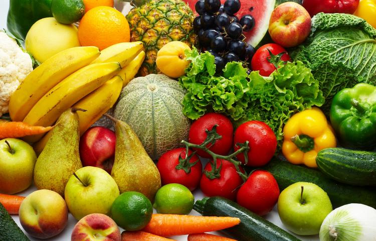 4034016 - group of different fruit and vegetables