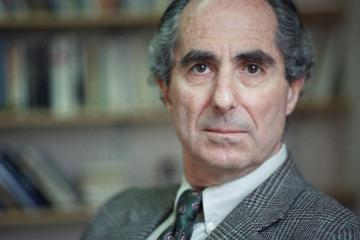 Novelist Philip Roth poses in March 1993. (AP Photo/Joe Tabbacca)