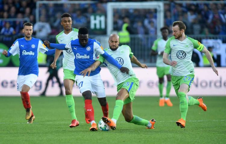 Wolfsburg handhaaft zich in Bundesliga