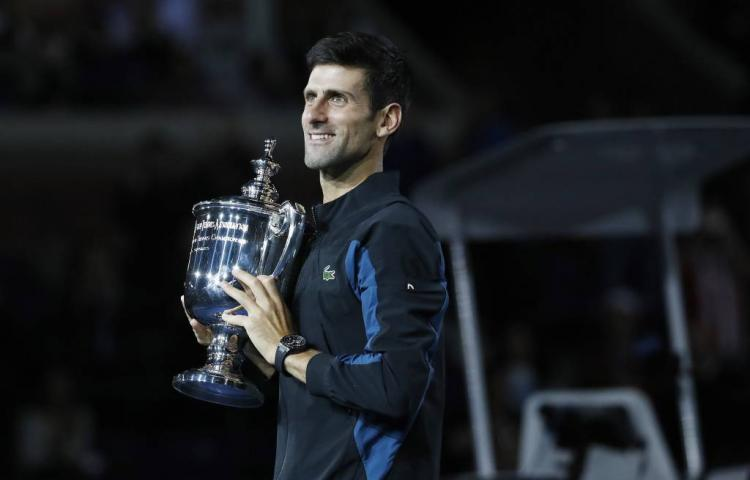 Djokovic mist Sampras na triomf in New York