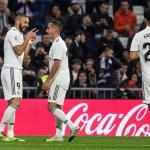 Real Madrid maar net langs Vallecano