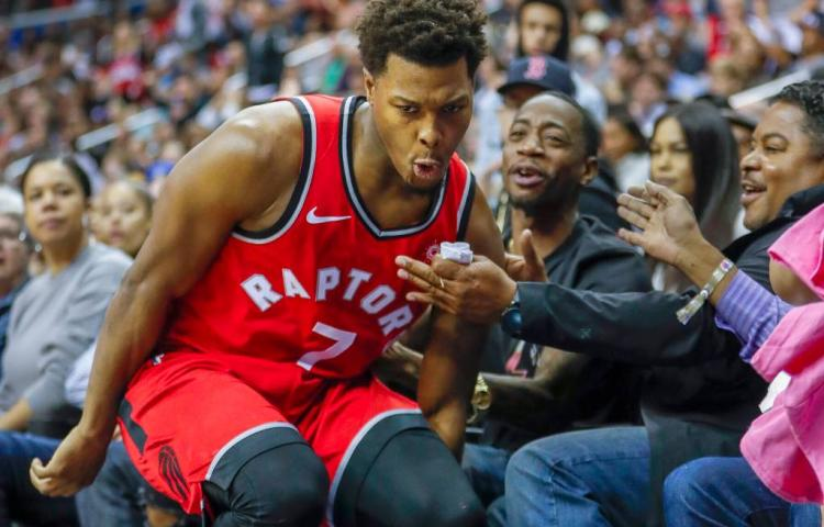 Toronto Raptors overklast Warriors