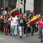 Massale protesten in Venezuela