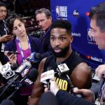 Tristan Thompson verbreekt stilzwijgen: fake news