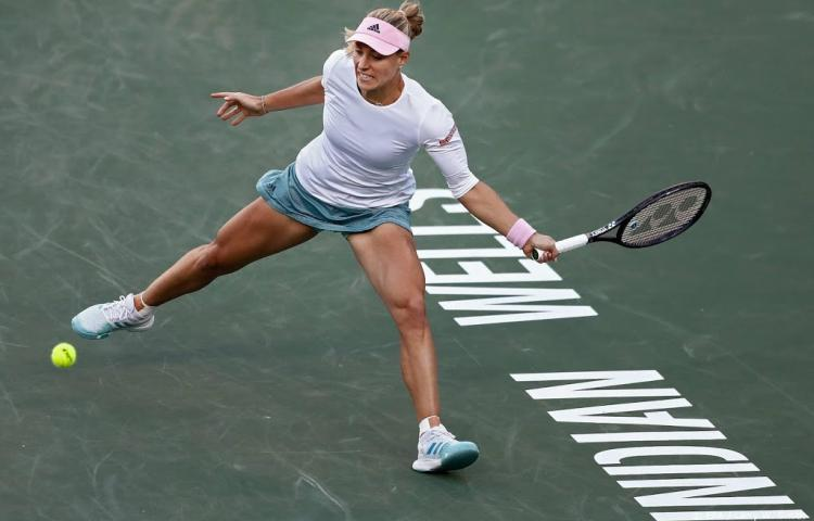Kerber klopt Venus Williams in Indian Wells