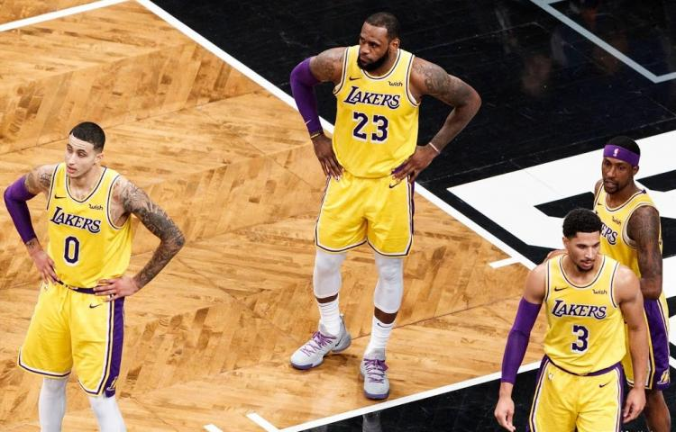 LeBron James grote afwezige in play-offs NBA