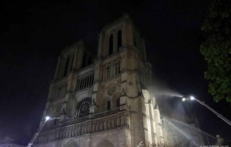 Brand Notre-Dame onder controle