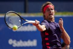 Jarry verrast Zverev in Barcelona