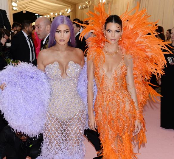 Pictured: Kylie Jenner and sister Kendall Jenner Mandatory Credit © Gilbert Flores/BroadimageThe 2019 Met Gala Celebrating Camp: Notes on Fashion - Arrivals 5/6/19,The Metropolitan Museum of Art, New York CA, United States of America Broadimage Newswire Los Angeles 1+  (310) 301-1027 New York      1+  (646) 827-9134 sales@broadimage.com http://www.broadimage.com