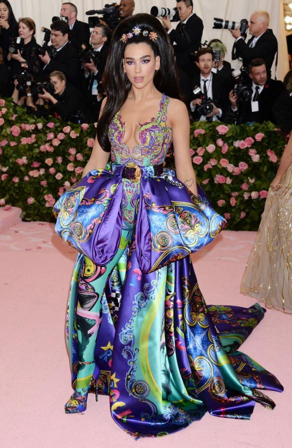 Pictured: Dua Lipa Mandatory Credit © Gilbert Flores/BroadimageThe 2019 Met Gala Celebrating Camp: Notes on Fashion - Arrivals 5/6/19,The Metropolitan Museum of Art, New York CA, United States of America Broadimage Newswire Los Angeles 1+  (310) 301-1027 New York      1+  (646) 827-9134 sales@broadimage.com http://www.broadimage.com